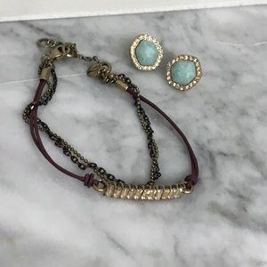 CHLOE + ISABELLE bracelet & earring bundle